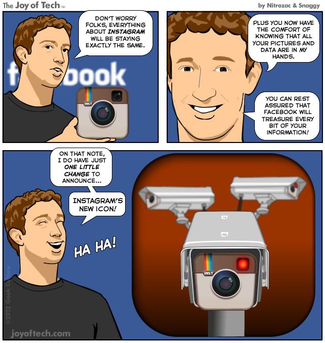 Цукерберг купил Инстаграм