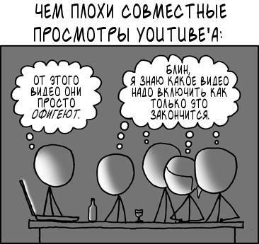 Совместный просмотр YouTube