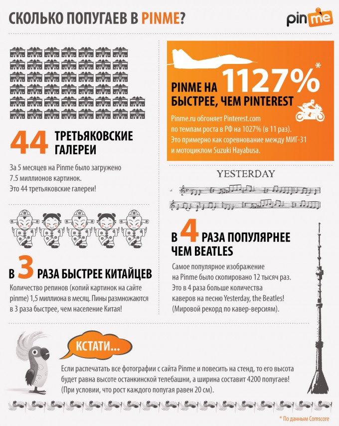 pinme infographic